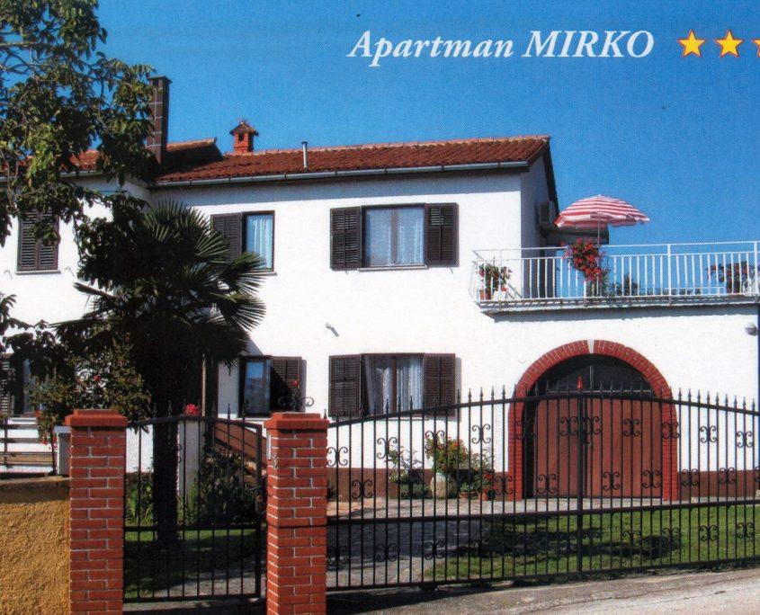 Apartmani Mirko Svetvincenat Savicenta