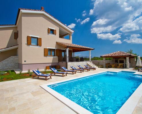 Villa Stokovci Svetvincenat Savicenta Istra Istrien
