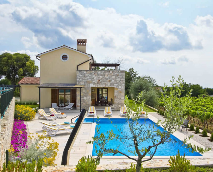 Villa Dunya Svetvincenat Savicenta Istra Istrien