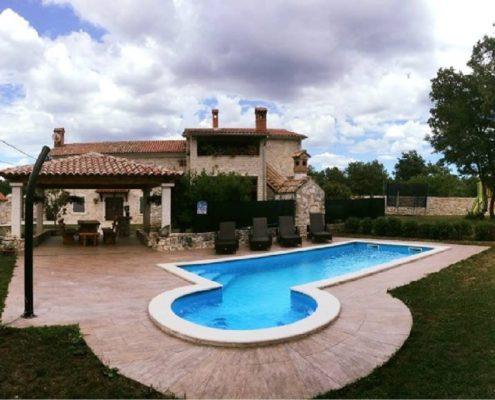 villa giovanna svetvinčenat istra bazen