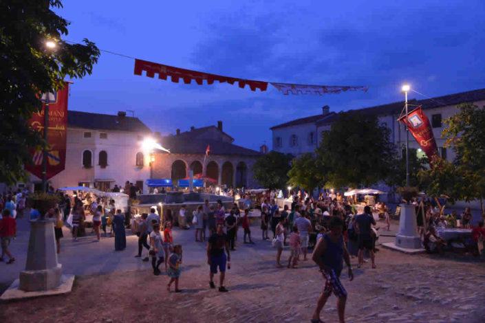 Srednjovjekovni medieval festival Svetvincenat Savicenta