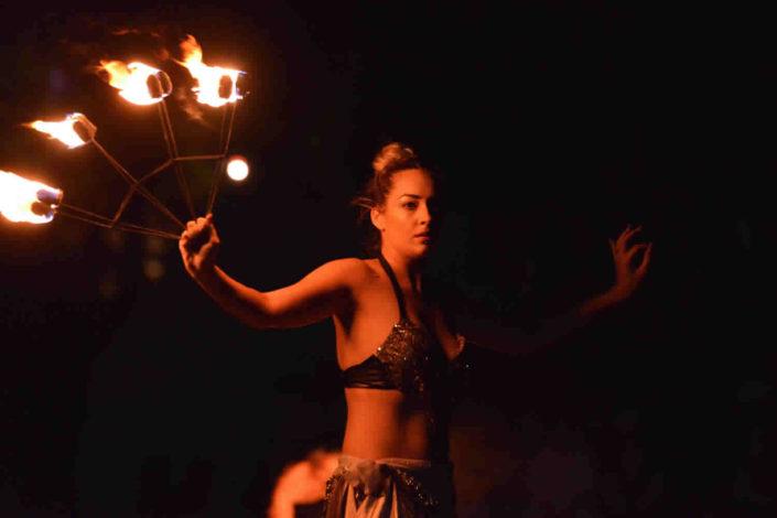 Srednjovjekovni medieval festival Svetvincenat Savicenta Fire show